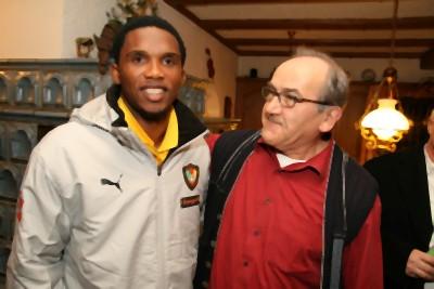 Samuel Eto'o zu Gast