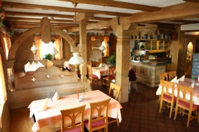 Rustikales Gasthaus